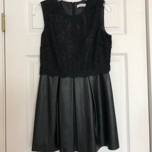 Calvin Klein black lace dress